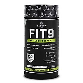 Sascha Fitness Fat Loss pills   Collagen support   Fluid Balance   FIT9 Ingredients: 7Keto + Uva Ursi, Gotu Kola, L-Theanine,Gingko Biloba,DIM,Green Tea   Weight Loss Supplements-Vegan-120 Natural Cap
