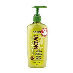 Sữa tắm DELON Organic Now chiết xuất từ nha đam hữu cơ dung tích 325ml - Organic Now Body Wash 325ml