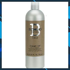 Dầu gội TIGI Bed Head B for men Clean up Daily shampoo hương bạc Hà cho Nam cao cấp Mỹ 750ml - Hàng chính hãng