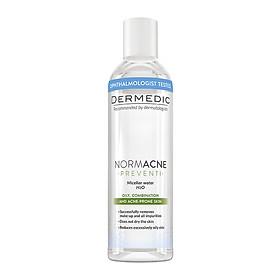 Nước tẩy trang cho da dầu mụn NORMACNE Micellar Water H2O Dermedic