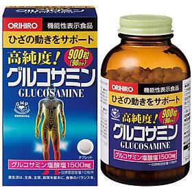 Thực phẩm bảo vệ sức khỏe viên uống bổ xương khớp Orihiro Glucosamine 1500mg hộp 900 viên