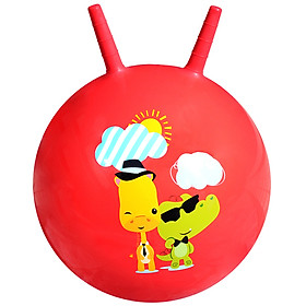 Fisher Price Toy Children's toy ball baby jumping ball 45cm (red donated inflatable foot pump) F0701H4