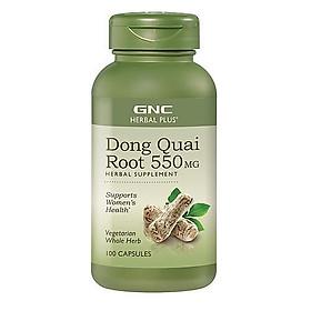Thực Phẩm Chức Năng GNC Hỗ trợ sinh lý phụ nữ DONG QUAI ROOT 550MG chai 100 viên