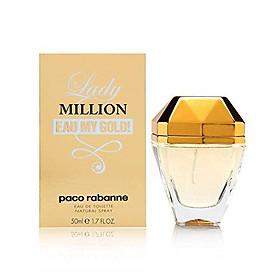 Lady Million Eau My Gold ! by Paco Rabanne 1.7 oz Eau de Toilette Spray