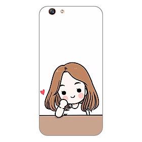 Hình đại diện sản phẩm Ốp lưng dẻo cho Oppo F1s _Couple Girl 03