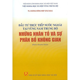 Đầu Tư Trực Tiếp Nước Ngoài Tại Vùng Nam Trung Bộ Những Nhân Tố Và Sự Phân Bổ Không Gian (Sách Chuyên Khảo)