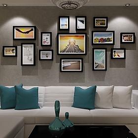 Bộ 14 khung ảnh  Composite Treo Tường Phòng Khách KA1401