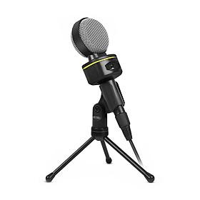 SF-930 Portable Mini Microphone for Audio Studio Sound Recording PC Laptop Computer 3.5mm Plug Stereo Mic