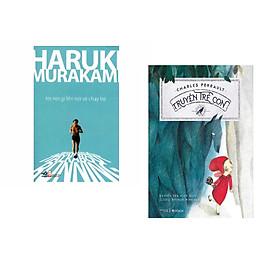 Combo 2 cuốn sách: Tôi nói gì khi nói về chạy bộ  + Truyện trẻ con