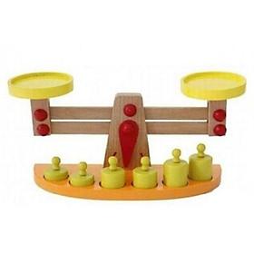 Cân học thăng bằng gỗ Montessori hãng Vivitoys