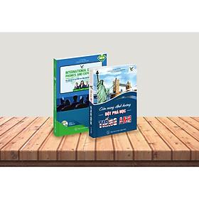Combo Bộ sách Cẩm nang học tiếng Anh - Ngữ âm học và cách diễn đạt tiếng Anh quốc tế nâng cao (Kèm đĩa CD)