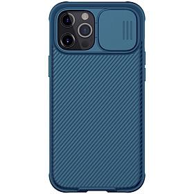 Ốp Nillkin bảo vệ Camera cho iPhone 12 Mini / 12 / 12 Pro / 12 Pro Max Nillkin Camshield nắp đậy bảo vệ Camera - Hàng nhập khẩu
