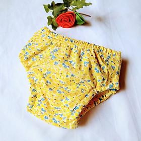 Combo 5 Quần bỉm vải cotton 6 lớp siêu thấm nhẹ thoáng hiệu goodmama cho Bé Gái-5