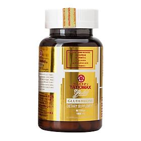 Thực phẩm chức năng Viên uống trắng da Tatiomax Gold Glutathione 1800mg mẫu mới