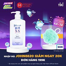 Sữa Tắm pH 5.5 Johnson's 2in1 (750ml) - 9556006008348