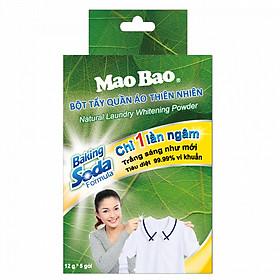 Bột tẩy quần áo thiên nhiên Mao Bao (12 g x 5 gói)