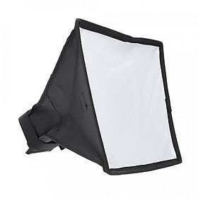 Tản sáng softbox đèn Flash kích thước 20cm x 30cm - Có túi đựng