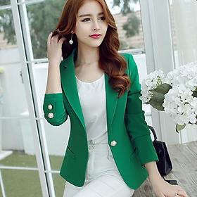 Áo khoác vest, blazer nữ cao cấp Style Hàn Quốc - AG71