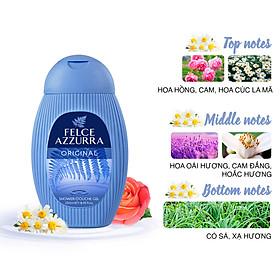 Sữa tắm hương nước hoa cổ điển Ý Felce Azzurra 250ml