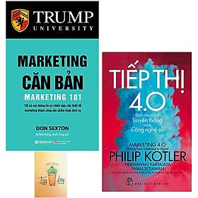 Combo Marketing Căn Bản và Tiếp thị 4.0 - Dịch Chuyển Từ Truyền Thống Sang Công Nghệ Số ( Tặng Kèm Sổ Tay)