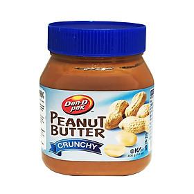 Bơ đậu phộng Crunchy 400gr (loại còn hạt nhỏ)