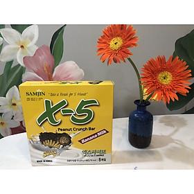 Bánh Socola X5 ( 5 lõi nhân) Hàn Quốc  - Vị Chuối