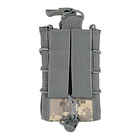 Tactical Double Magazine Mag Pouch Outdoor Military Gear Hunting Bag Accessory Pouch Utility Tool #4 CN