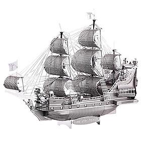 Mô Hình Lắp Ráp Kim Loại Piececool P038-S - Tàu Hải Tặc Queen Anne'S Revenge