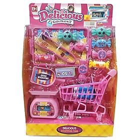 Bộ Đồ Chơi Cửa Hàng Kẹo Ngọt Mini - Girl Toys 832 - 48