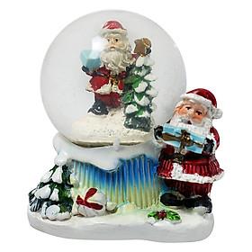 Quả Cầu Tuyết Trang Trí Giáng Sinh Hình Ông Già Noel - Mẫu Ngẫu Nhiên