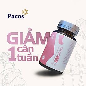 Thực phẩm hỗ trợ giảm cân nhanh Pacos Slim chiết suất thiên nhiên vitamin an toàn hiệu quả