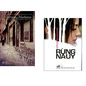 Combo 2 cuốn sách: Phố những cửa hiệu u tối   + Rừng Nauy ( tái bản)