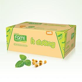 Thùng Sữa đậu nành Fami Nguyên Chất ít đường (200ml x 40 bịch)
