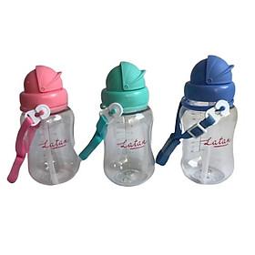 Bình uống nước ống hút LaTan có dây xách 250ml