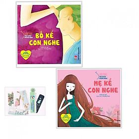 Combo Bố Kể Con Nghe + Mẹ Kể Con Nghe-Tặng Bookmark AHA