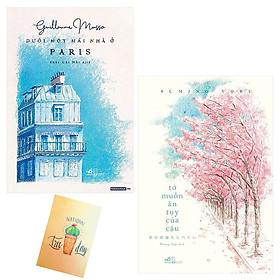 Combo Tớ Muốn Ăn Tụy Của Cậu và Dưới Một Mái Nhà Ở Paris( Tặng Kèm Sổ Tay Xương Rồng)
