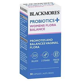 Blackmores Probiotics+ Womens Flora Balance 30 Capsules