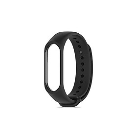 Dây đeo cao su cho đồng hồ thông minh Xiaomi Miband 3 - Hàng Chính Hãng