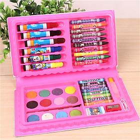 Bộ dụng cụ vẽ cho bé - Hộp bút chì màu đa năng 42 chi tiết tiện dụng_HBCM01