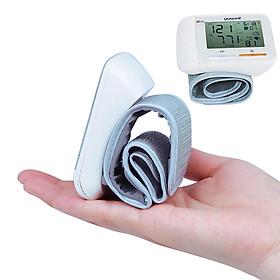 Máy đo huyết áp cổ tay mini Xiaomi YouPin Yuwell, Máy đo nhịp tim vòng cổ tay LCD kỹ thuật số, Máy đo huyết áp thiết bị y tế