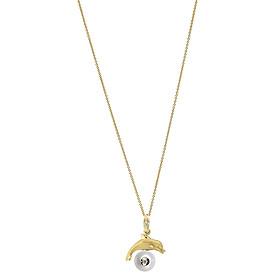 Dây Chuyền Galatea Jewelry Diamond In A Pearl 4132.04YW - Trắng