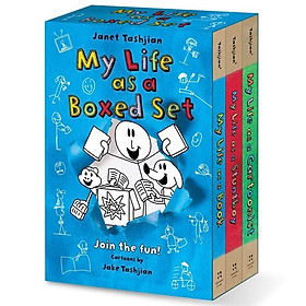 My Life As A Boxed Set #1: Derek Fallon 1-3 (My Life As A Book, My Life As A Stuntboy, My Life As A Cartoonist)
