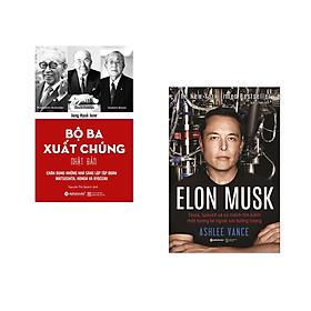 Combo 2 cuốn sách: Bộ Ba Xuất Chúng Nhật Bản  + Elon Musk (Bìa Cứng)