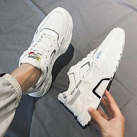 Giày thể thao sneaker nam phong cách trẻ trung 2020 - 015 trắng