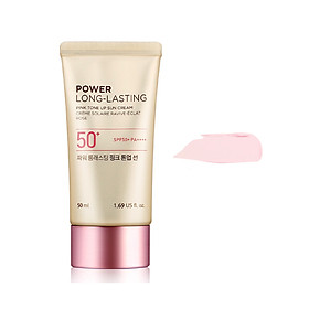 THE FACE SHOP Power Long-Lasting Pink Tone Up Sun Cream 50ml