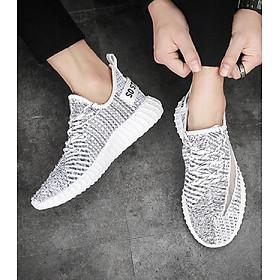 Giày Sneaker Nam 3Fashion Vải Mềm Nhẹ Style Hàn Quốc - 3172