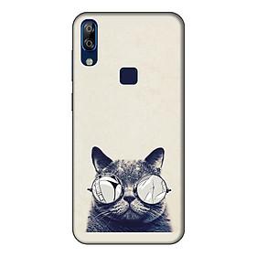 Ốp lưng điện thoại VSmart Active 1 Plus hình Mèo Con Đeo Kính Mẫu 1 - Hàng chính hãng