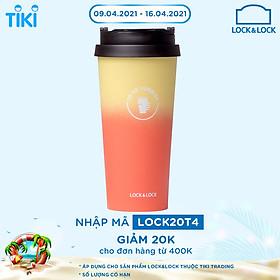 Bình Giữ Nhiệt Lock&Lock Two-Tone Clip Tumbler LHC4151 540ml