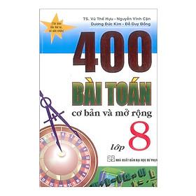 400 Bài Toán Cơ Bản Và Mở Rộng 8