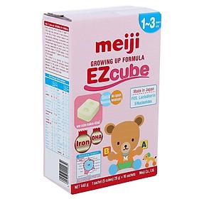 Sữa Meiji 9 dạng thanh nhập khẩu cho bé (1-3 tuổi)  (16 thanh)